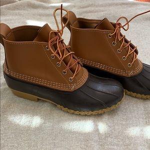 LL Bean Duck Shoes Like New! Sz 8